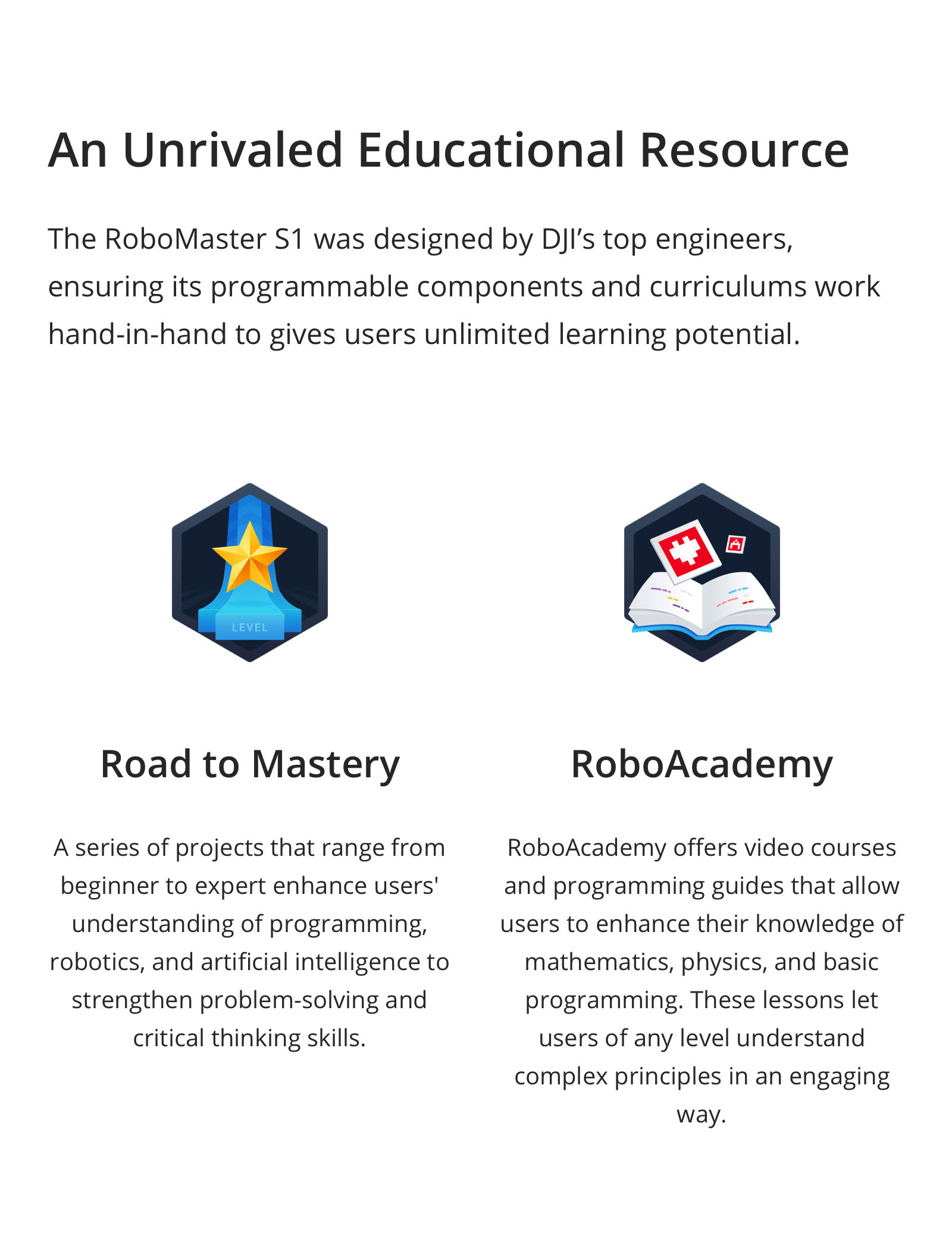 Buy DJI RoboMaster S1 Educational Robot today at DroneNerds