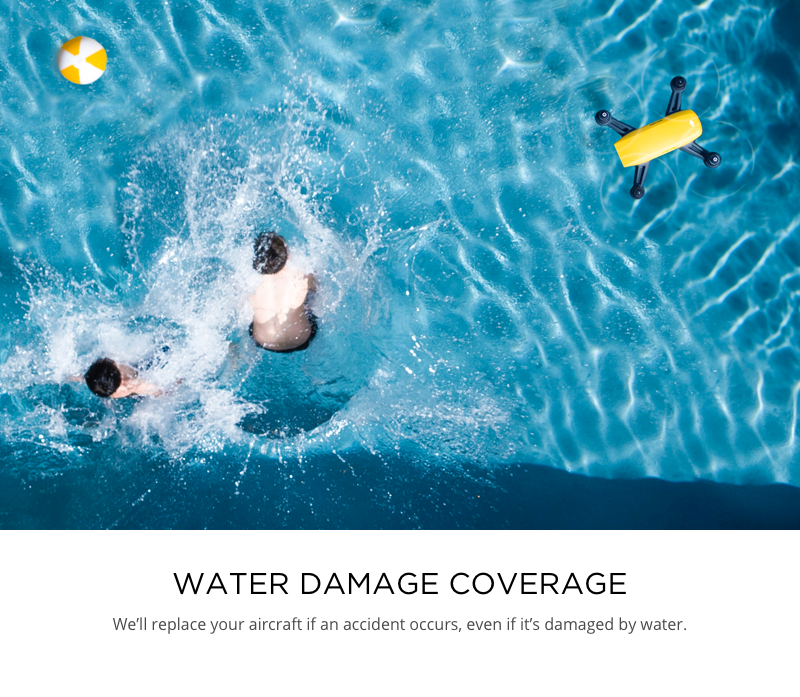 DJI Care Refresh Water Damage