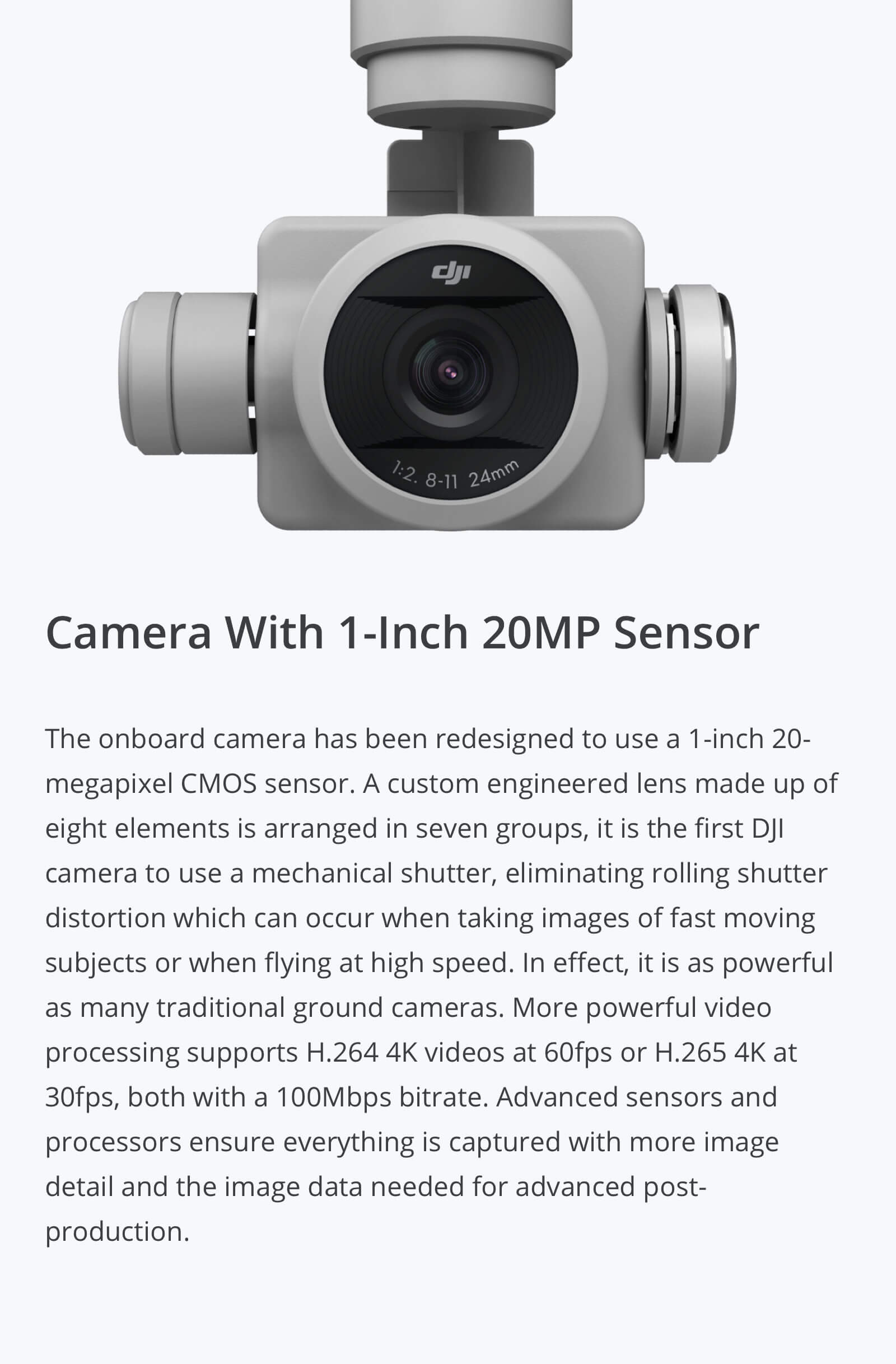 DJI Phantom 4 Pro V2.0 Camera
